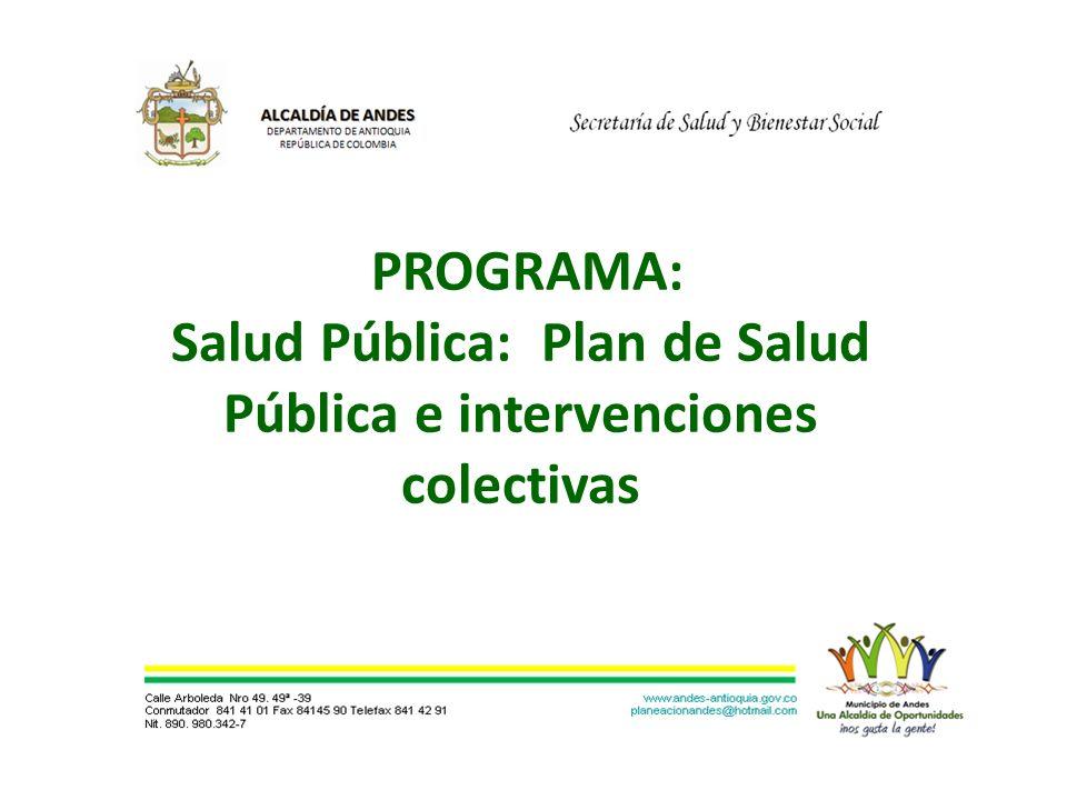 El Municipio de Andes, acogiéndose a la Ley, realizó convenio con la E.S.E.