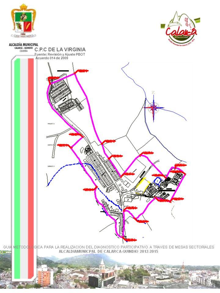 CENTRO POBLADO-QUEBRADANEGRA Fuente: Revisión y Ajuste PBOT Acuerdo 014 de 2009