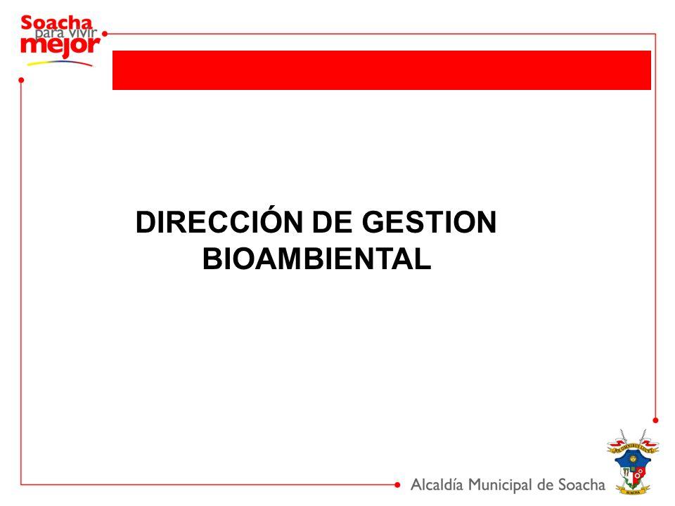 DIRECCIÓN DE GESTION BIOAMBIENTAL