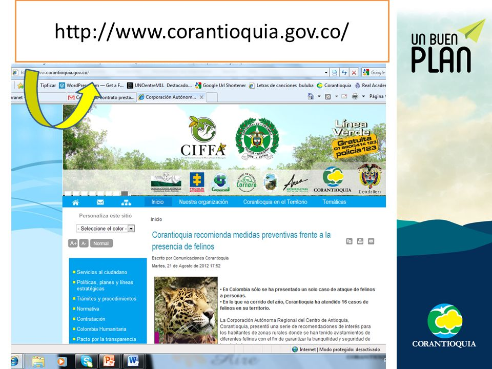 http://www.corantioquia.gov.co/