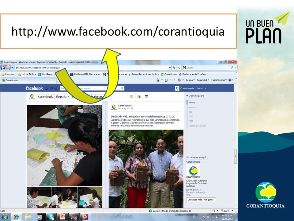 http://www.facebook.com/corantioquia