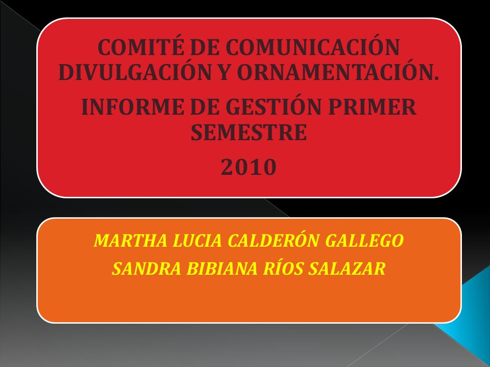 COMITÉ DE COMUNICACIÓN DIVULGACIÓN Y ORNAMENTACIÓN.