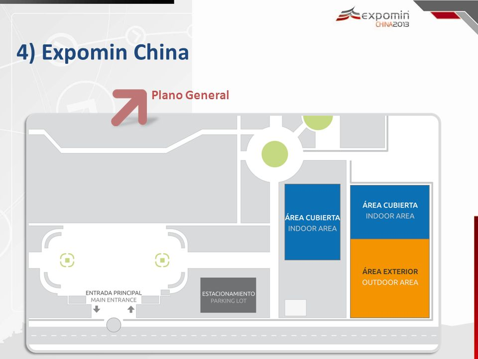4) Expomin China Plano General