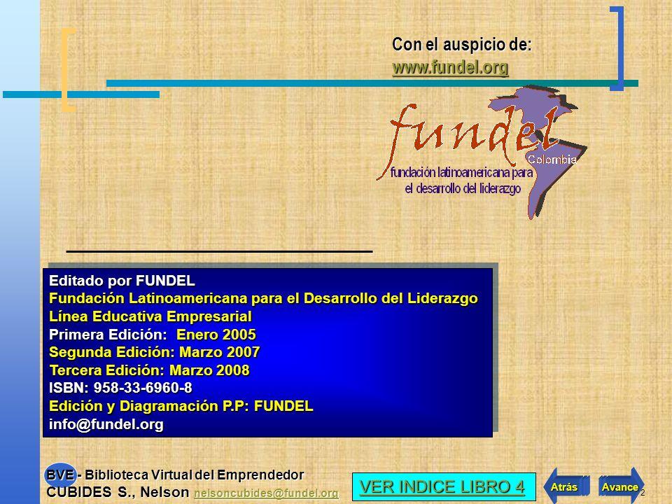 12 Hace referencia al desarrollo administrativo y legal de la futura empresa.