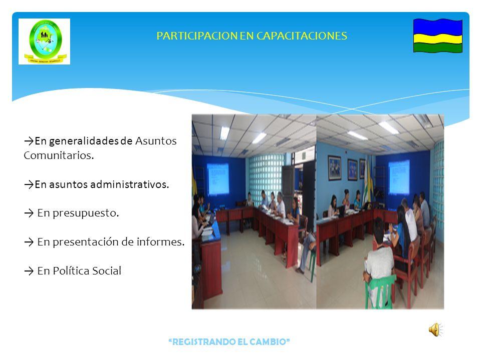 Proyección y digitación de Certificados de Disposición Presupuestal (CDP) de los resguardos indígenas.