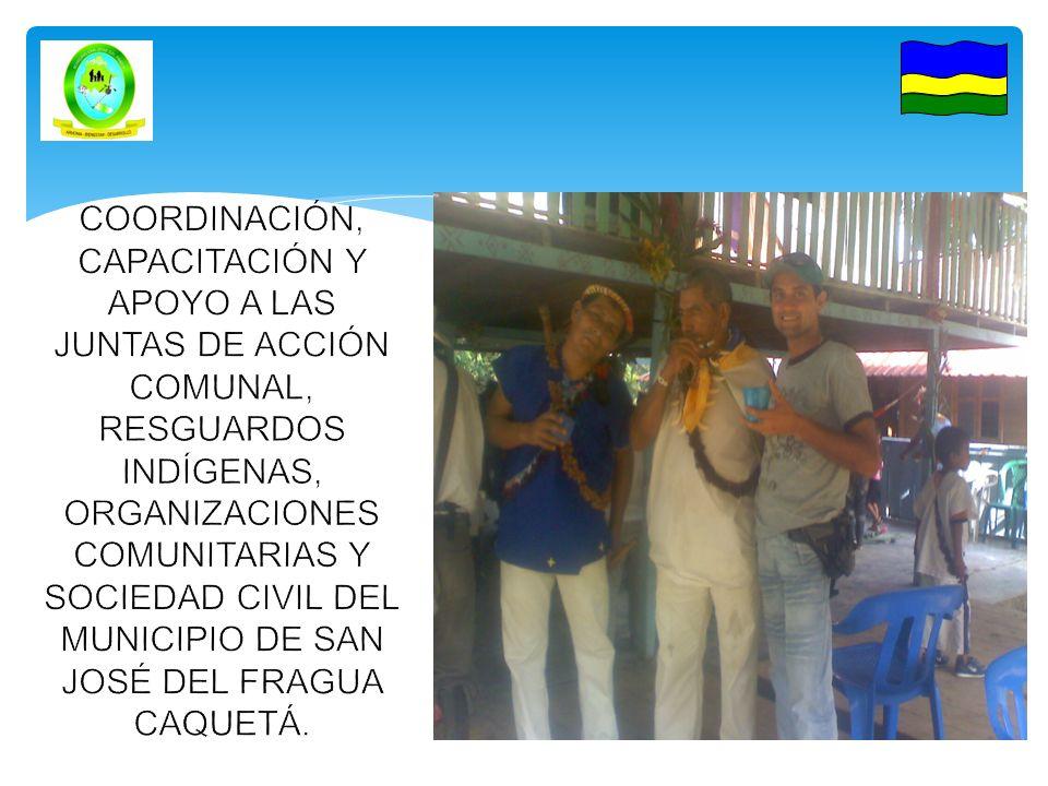 REGISTRANDO EL CAMBIO COORDINACIÓN DE ASUNTOS COMUNITARIOS 2012