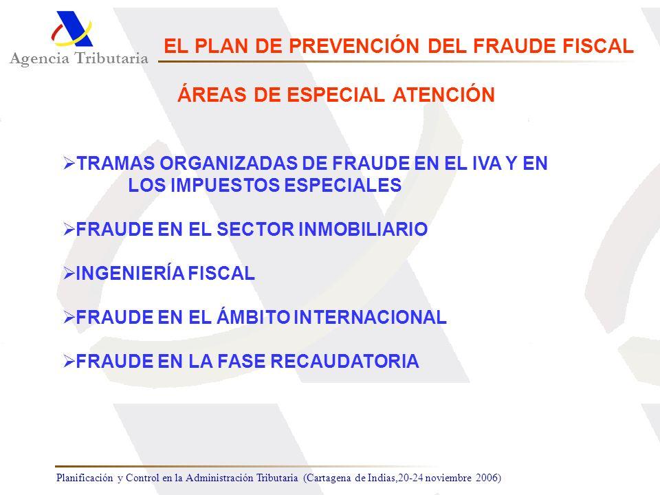 Planificación y Control en la Administración Tributaria (Cartagena de Indias,20-24 noviembre 2006) TRAMAS ORGANIZADAS DE FRAUDE EN EL IVA Y EN LOS IMP