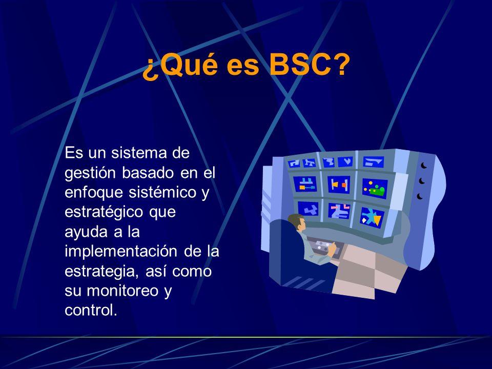 ¿Qué es BSC.