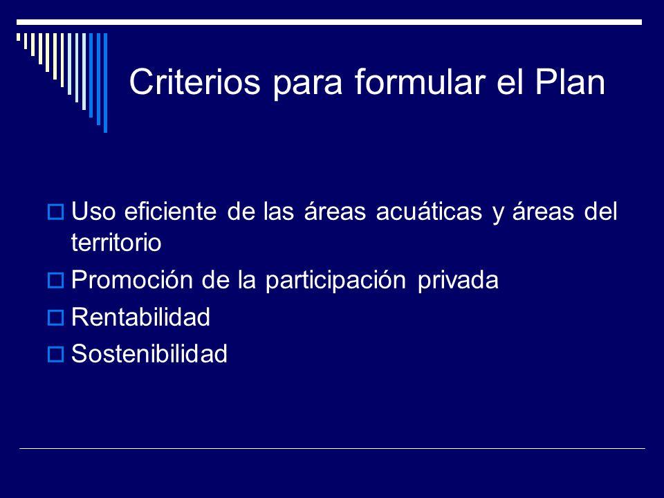 Componentes del Plan: según el Reglamento de la Ley Esquema básico de desarrollo portuario: visión y misión del SPN