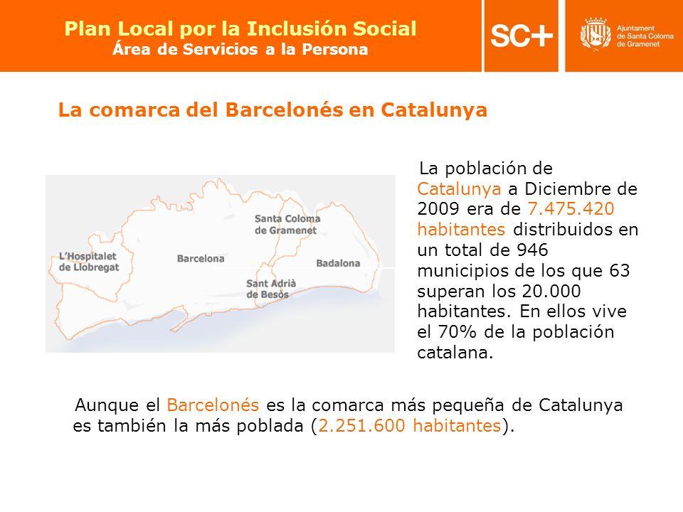 4 Pla Local per a la Inclusió Social Àrea de Serveis a la Persona Plan Local por la Inclusión Social Área de Servicios a la Persona Aunque el Barcelon