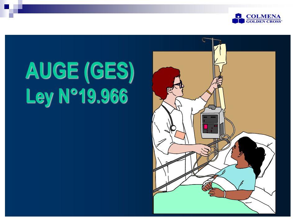 AUGE (GES) Ley N°19.966