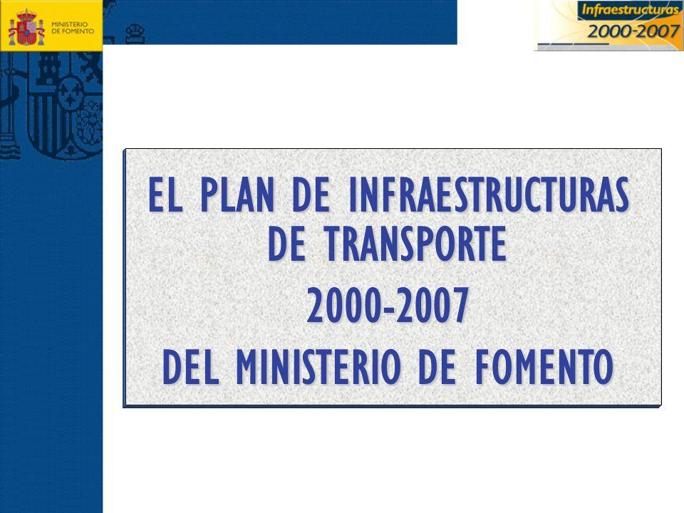 EL PLAN DE INFRAESTRUCTURAS DE TRANSPORTE 2000-2007 DEL MINISTERIO DE FOMENTO