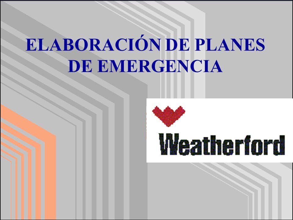 h.- Confección de planos Usted está aquí (croquis de distribución de la planta y vías de evacuación).