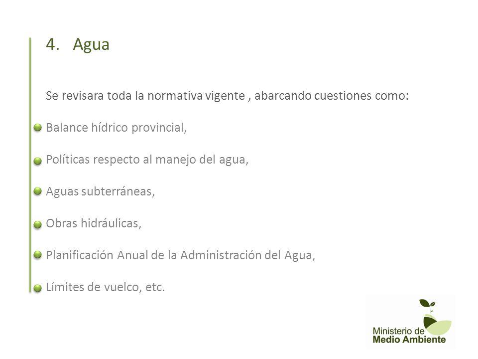 Se trabajara sobre: La Flora y Fauna provincial (caracterización, efectos por el uso de la tierra, etc) El sistema de Áreas Naturales Protegidas La Pesca La Caza Los Bosques Nativos 5.