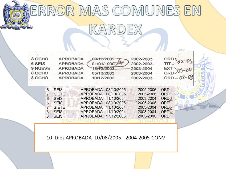 10 Diez APROBADA 10/08/2005 2004-2005 CONV