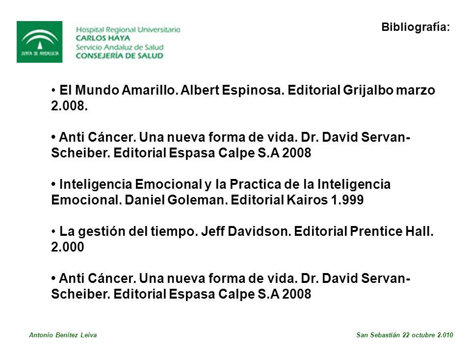 El Mundo Amarillo.Albert Espinosa. Editorial Grijalbo marzo 2.008.