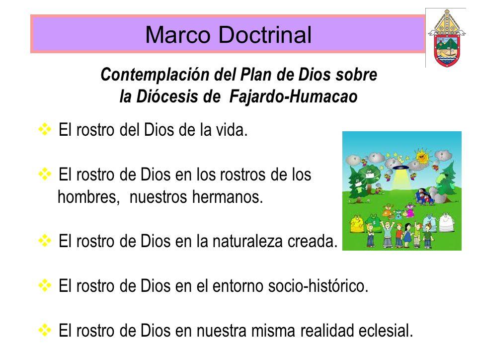 Marco Doctrinal El rostro del Dios de la vida. El rostro de Dios en los rostros de los hombres, nuestros hermanos. El rostro de Dios en la naturaleza