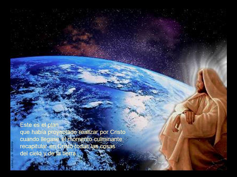 Por este Hijo, por su sangre, hemos recibido la redención, el perdón de los pecados. El tesoro de su gracia, sabiduría y prudencia ha sido un derroche