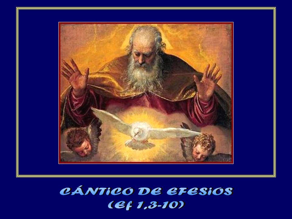 Este es el plan que había proyectado realizar por Cristo cuando llegase el momento culminante: recapitular en Cristo todas las cosas del cielo y de la tierra.