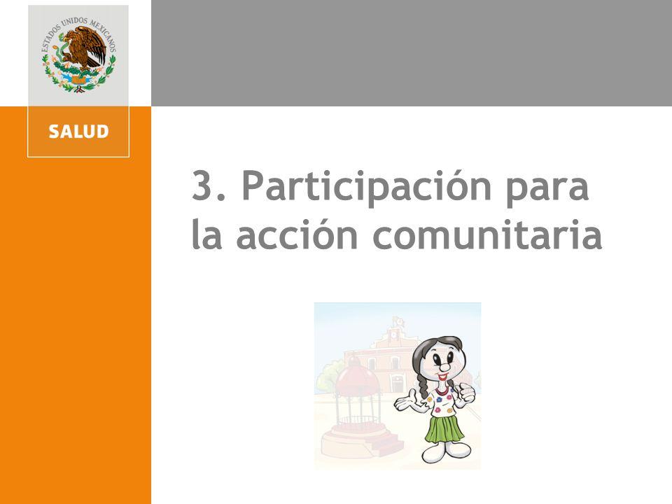 4. Participación para la acción comunitaria 3. Participación para la acción comunitaria