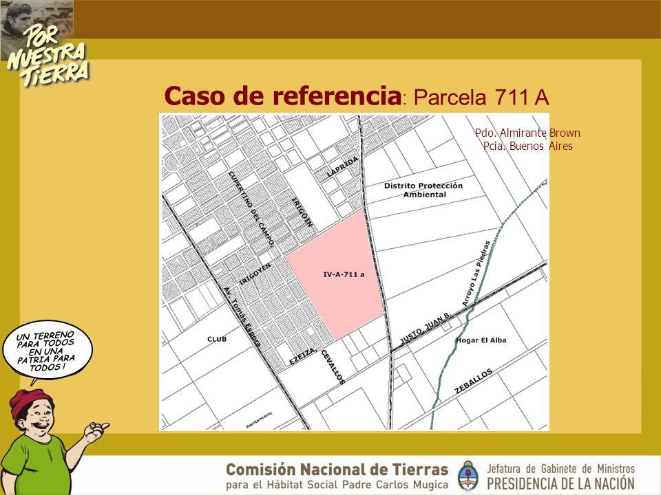 UN TERRENO PARA TODOS EN UNA PATRIA PARA TODOS ! Caso de referencia : Parcela 711 A Pdo. Almirante Brown Pcia. Buenos Aires