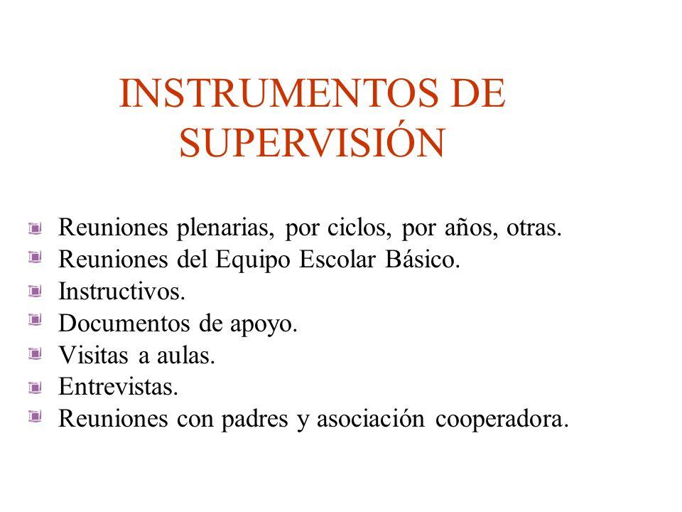 SUPERVISAR ES PROMOVER EL CRECIMIENTO DE LAS INSTITUCIONES HACIA LA TRANSFORMACIÓN