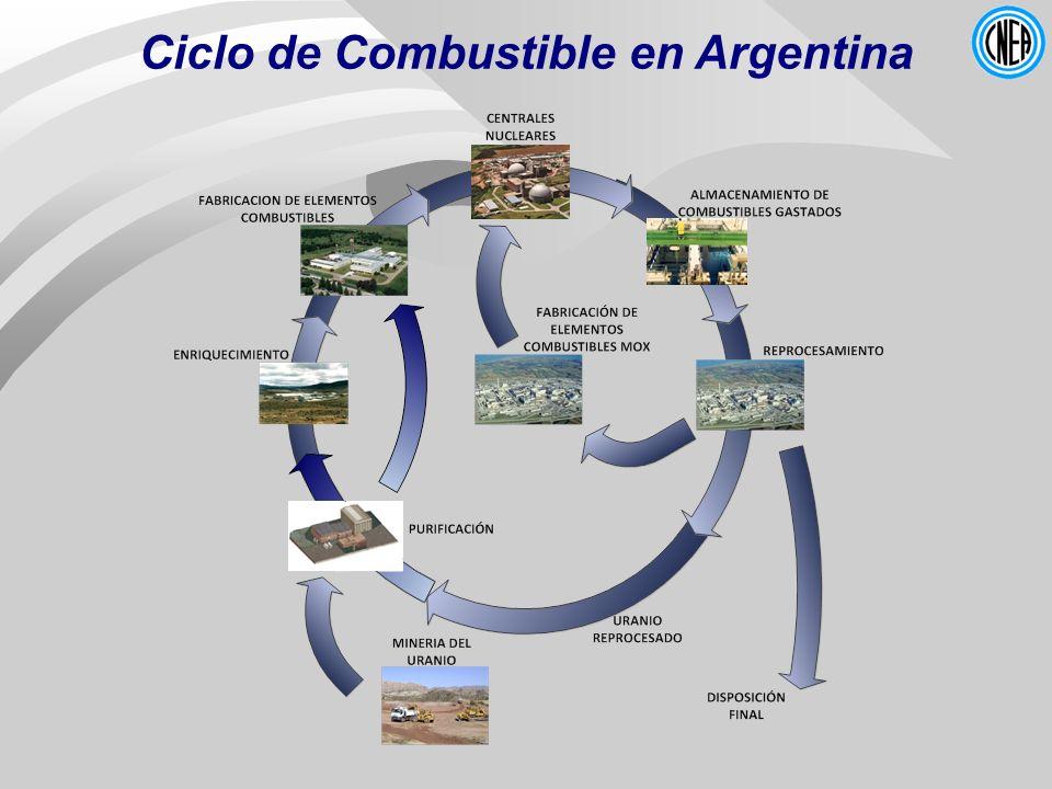 Ciclo de Combustible en Argentina