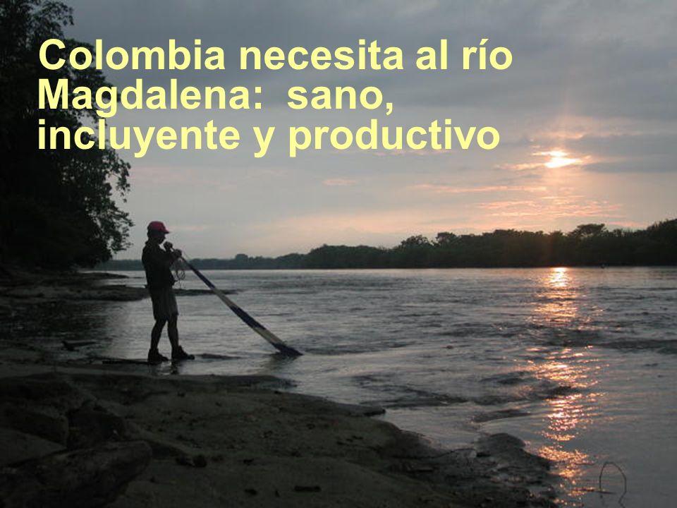 Colombia necesita al río Magdalena: sano, incluyente y productivo