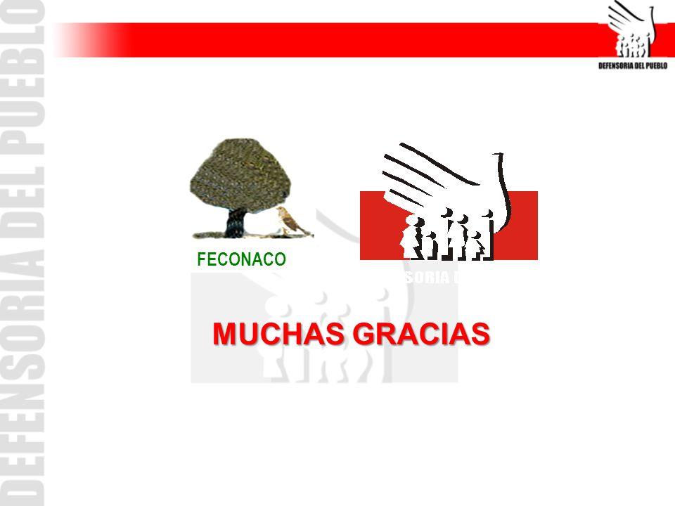 MUCHAS GRACIAS FECONACO