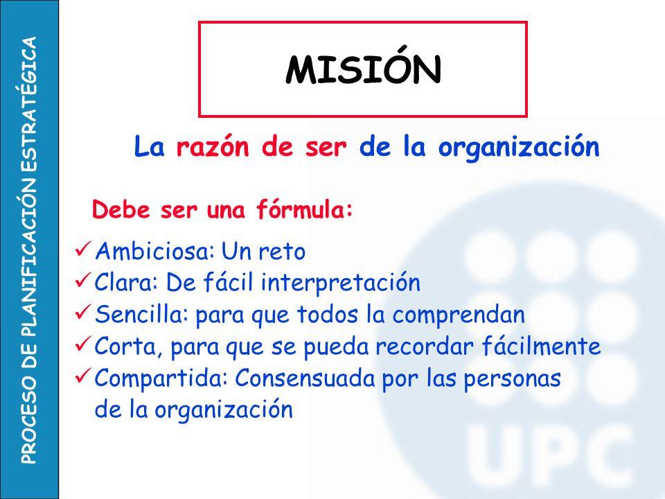 PROCESO DE PLANIFICACIÓN ESTRATÉGICA Un PLAN ESTRATÉGICO tiene 3 fases: 1.