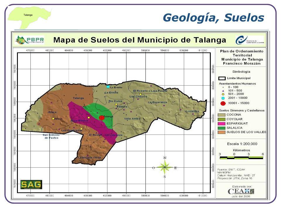 Geología, Suelos