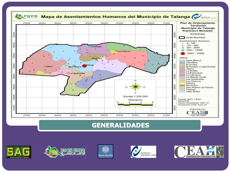 Company Logo www.themegallery.com Ciudad de Talanga Área 1085.20 has
