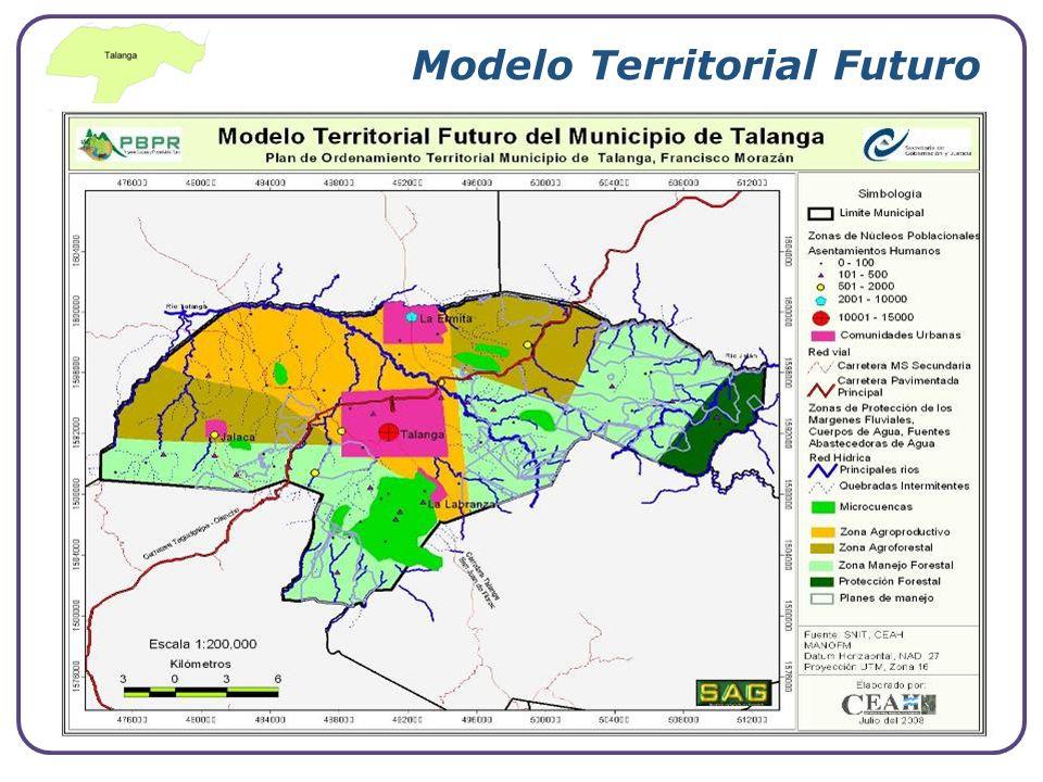 Modelo Territorial Futuro