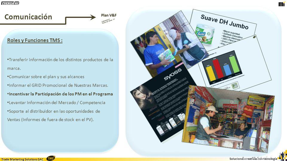 Trade Marketing Solutions SAC Fuerza KC, ficha técnica