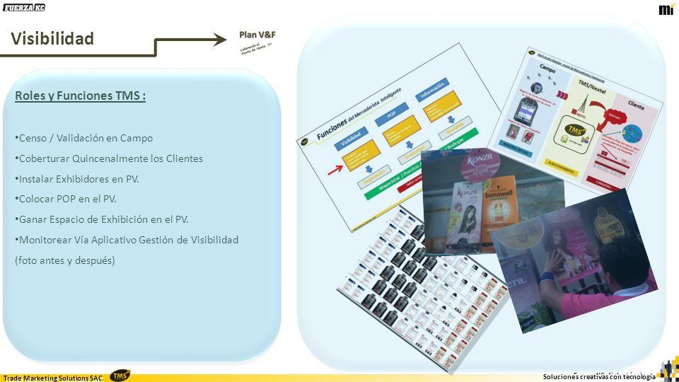Trade Marketing Solutions SAC Fuerza KC, ficha técnica Soluciones creativas con tecnología Trade Marketing Solutions SAC www.tms-sac.com