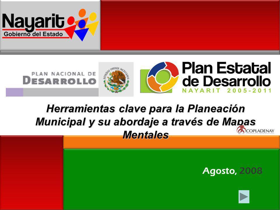 Herramientas clave para la Planeación Municipal y su abordaje a través de Mapas Mentales