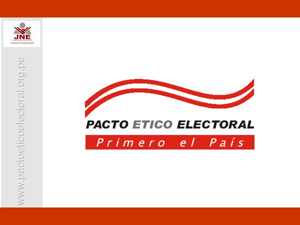 Comisión Andina de Juristas Jurado Nacional de Elecciones (JNE) Foro del Acuerdo Nacional (AN) Asociación Civil Transparencia Idea Internacional CONVOCANTES
