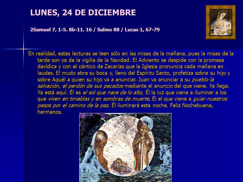 DOMINGO IV DE ADVIENTO Isaías 7, 10-14 / Sal 23 / Romanos 1, 1-7 / Mt 1, 18-24 Presentada como el cumplimiento de la profecía hecha a Acaz, la Encarna