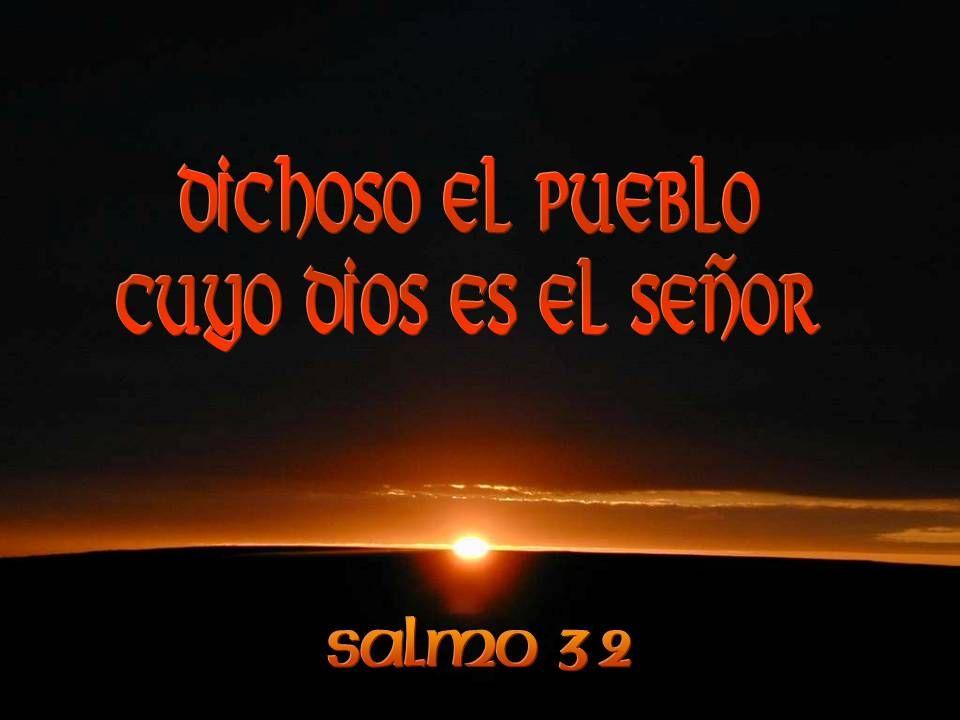 Nosotros aguardamos al Señor: El es nuestro auxilio y escudo; con El se alegra nuestro corazón, en su santo nombre confiamos.