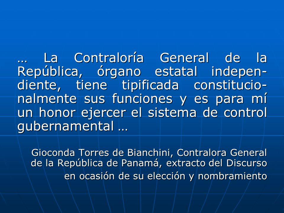 Constitución Política de la República de Panamá Artículo 280.