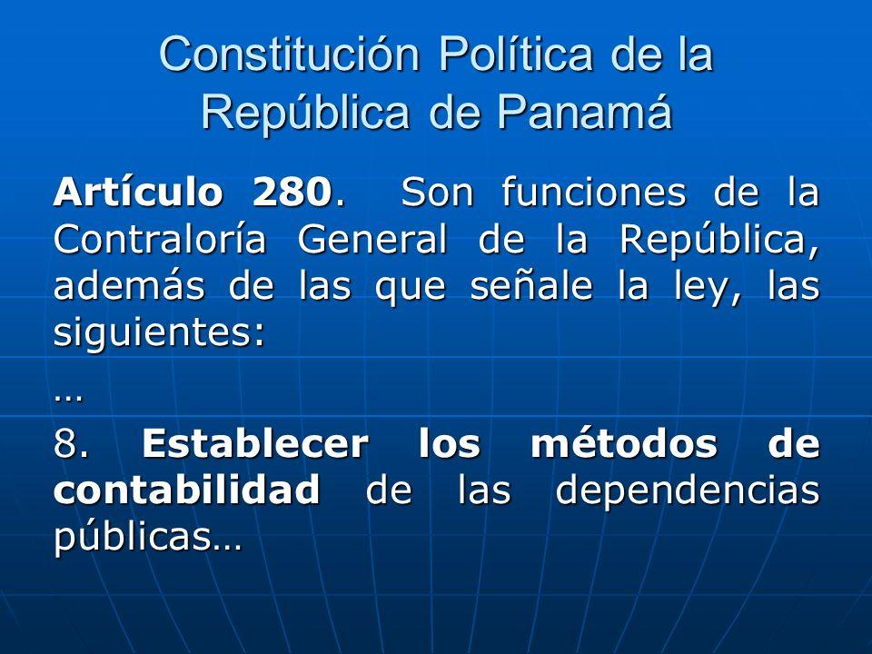 Manual General de Contabilidad Gubernamental, Estructura