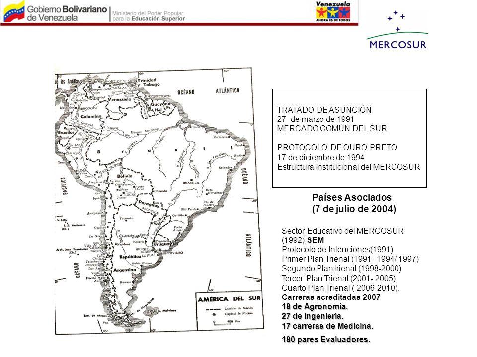 TRATADO DE ASUNCIÓN 27 de marzo de 1991 MERCADO COMÚN DEL SUR PROTOCOLO DE OURO PRETO 17 de diciembre de 1994 Estructura Institucional del MERCOSUR Se