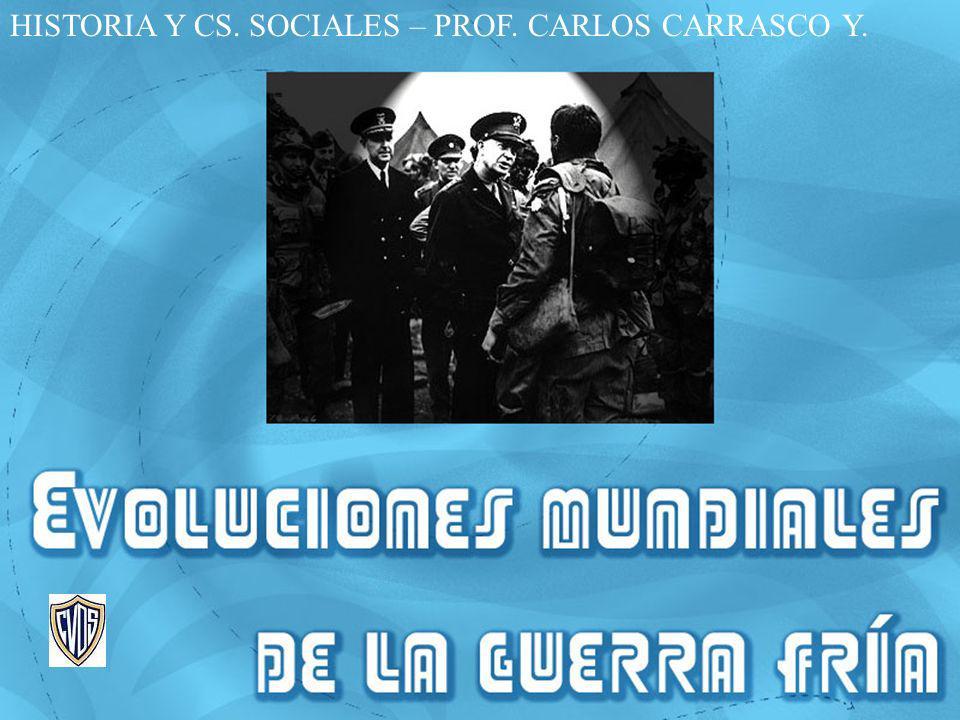 HISTORIA Y CS. SOCIALES – PROF. CARLOS CARRASCO Y.