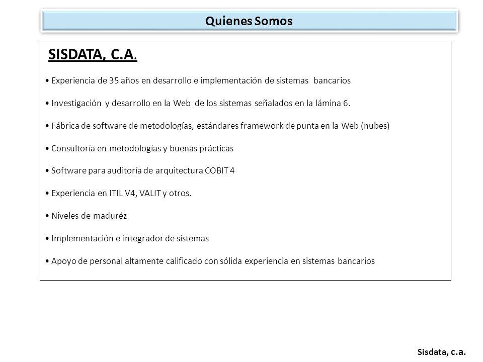 Sisdata, c.a.DURAN & ASOCIADOS, C.A.