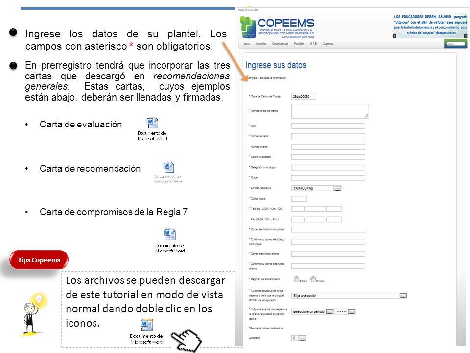 3.- Planta docente Llene los datos de planta docente del plantel: Características de la planta docente.