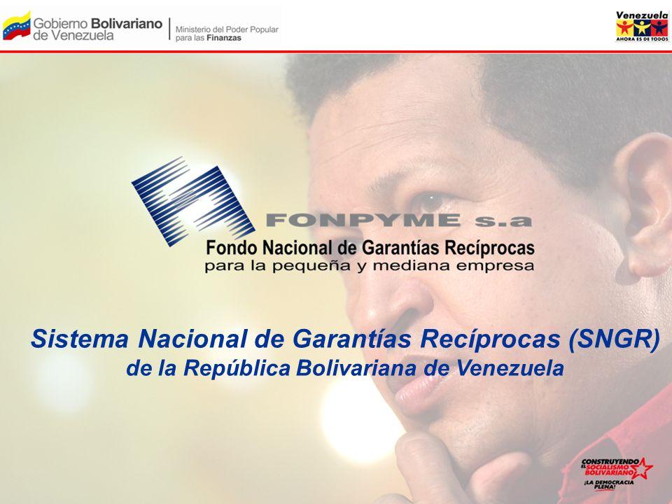Sistema Nacional de Garantías Recíprocas (SNGR) de la República Bolivariana de Venezuela