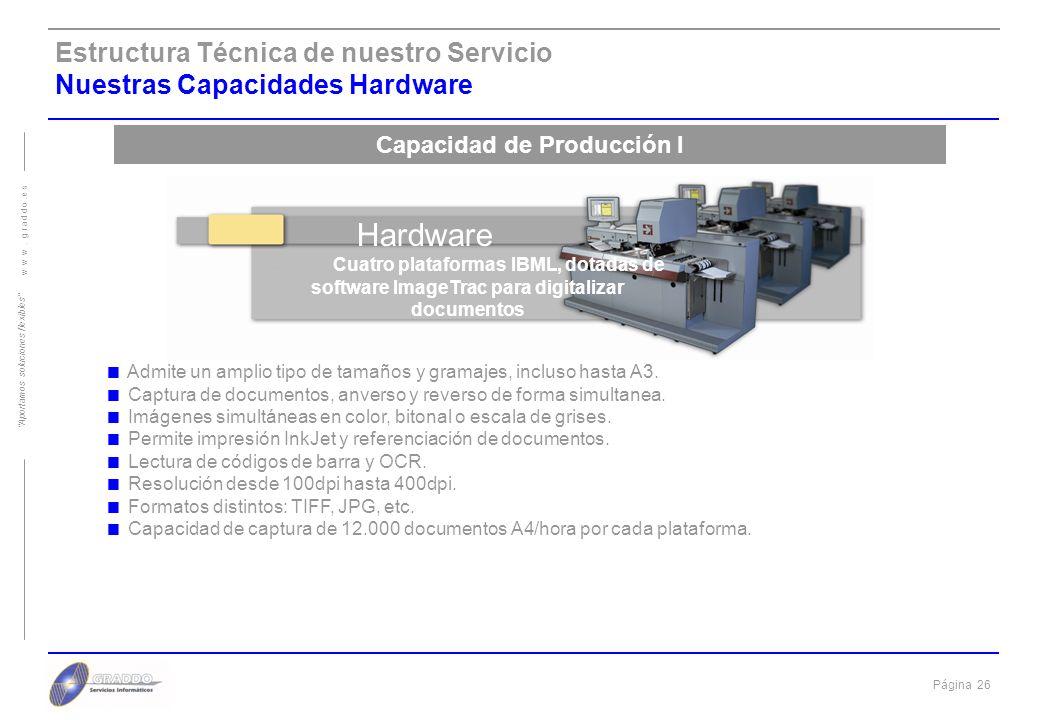 Página 25 w w w. g r a d d o. e s Aportamos soluciones flexibles Esquema funcional de Graddo Proceso de la documentación