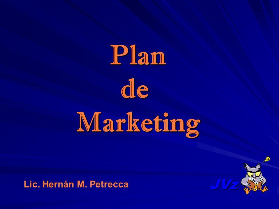JVz PlandeMarketing Lic. Hernán M. Petrecca