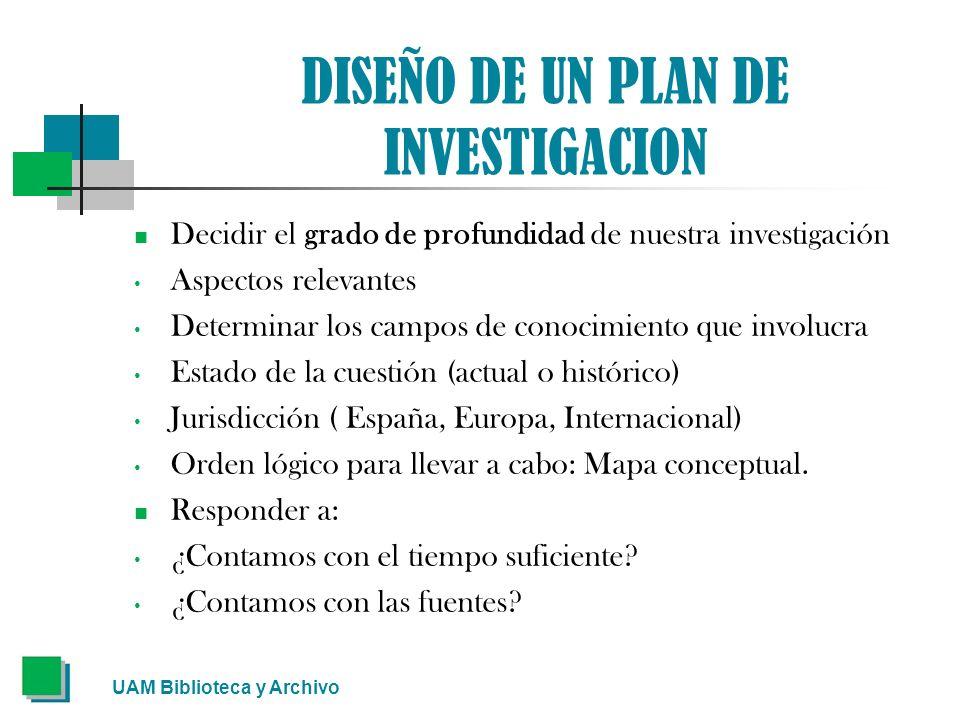 EL ÍNDICE La mejor herramienta para abarcar un plan provisional es a través de la realización de un índice.