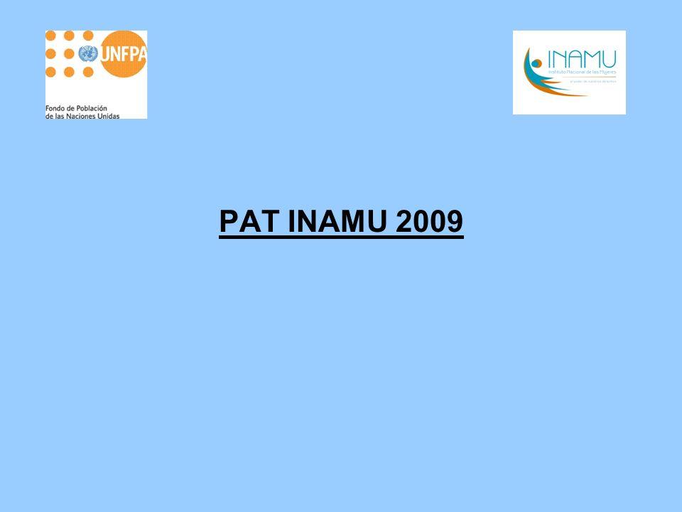 ANTECEDENTES Y JUSTIFICACIÓN Ley de creación de INAMU establece como uno de sus fines formular e impulsar la política nacional para la igualdad y equidad de género, en coordinación con instituciones públicas, instancias estatales que desarrollan programas para las mujeres y organizaciones sociales.